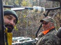 myśliwi na polowaniu